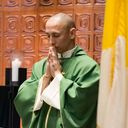 Fr. Gio celebrates first masses at St. Clement photo album thumbnail 5