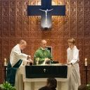 Fr. Gio celebrates first masses at St. Clement photo album thumbnail 15